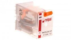 Przekaźnik przemysłowy 4P 12V AC AgNi R4N-2014-23-5012-WT
