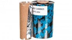 Naklejka - taśma barwiąca do drukarki D2 SATO - 100m WANAKD2BAR