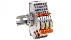Listwa kontrolna LKW 6-elementowa do zwierania przekładników prądowych 848-493