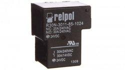 Przekaźnik przemysłowy 1P 30A 24V DC PCB R30N-3011-85-1024 2614729