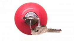 Napęd przycisku grzybkowego czerwony 2x klucz RONIS SB30 plastikowy IP69k Sirius ACT 3SU1000-1HG20-0AA0