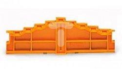 Ścianka końcowa 4-piętrowa z oznacznikami literowymi 727-208 /25szt./