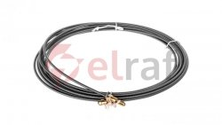 Taśma stalowa do wciągania kabli 5m TSWK_3-5