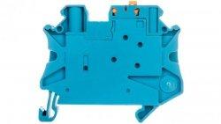 Złączka przelotowa 2-przewodowa z odłącznikiem nożowym 4mm2 niebieska UT 4-MT BU 3046278