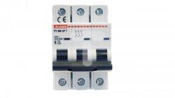 Ogranicznik mocy 3P 6A 10kA P1MB3PT06