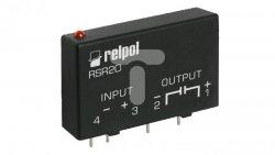 Przekaźnik półprzewodnikowy 1-polowy do druku 3A 60V DC wejście 4-32V DC RSR20-D32-D0-06-030-1 2611984
