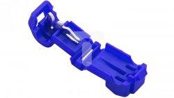 Szybkozłączka 0,75-1,5mm2 niebieska 43-402# /100szt./