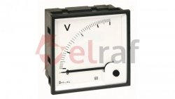 Woltomierz AC 48X48 pomiar bezp. 300V RQ48E AN15DDC300