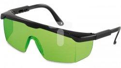 Okulary wzmacniające zielone do laserów 15-102-22