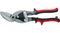 Nożyce do blachy dekarskie lewe 250mm CrV MN-63-212