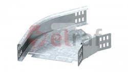 Łuk poziomy korytka 45 stopni 100x60 RB 45 610 FS 6043763