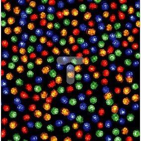 Komplet choinkowy LED 50L zewnętrzne w okręgu multikolor 38-101