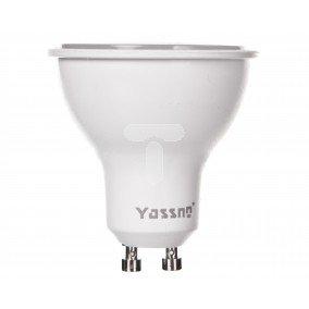 Żarówka LED GU10 6W (PAR16) 490lm 6000K 220-240V YASSNO YB-01-021