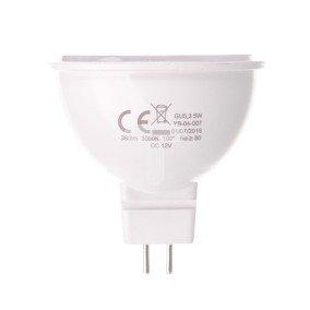 Żarówka LED GU5.3 5W (MR16) 380lm 3000K  12V YASSNO YB-04-007