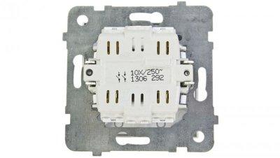 AS Łącznik podwójny z podświetleniem biały ŁP-11GS/m/00