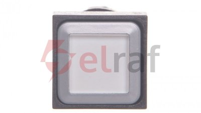 Napęd przycisku biały bez samopowrotu z podświetleniem Q18LTR-WS/WB 086708