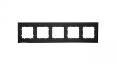 Berker B.7 Ramka pięciokrotna antracyt mat 10156626