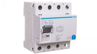 Wyłącznik różnicowoprądowy 4P 125A 0,5A typ A CRA490