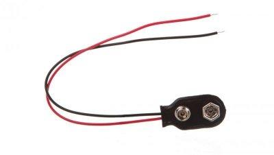 Przewód zasilający na baterię 9V 6F22 11445