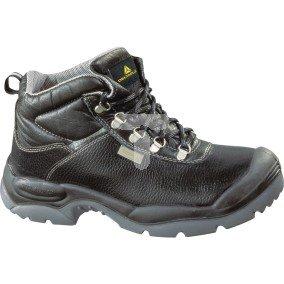 Buty ze skórzanego kruponu barwionego podeszwa z dwuwarstwowego PU kolor czarny rozmiar 39 PIED  SAULTS3NO39