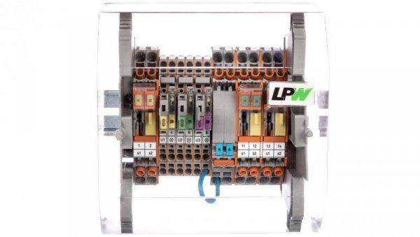 Listwa pomiarowa WAGO LPW 14-torowa 230VAC równoległa 847-297/230-2000