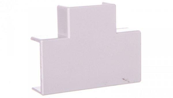 Rozgałęźnik do korytek kablowych typu T 22x10 biały /2szt/ ECT2210B