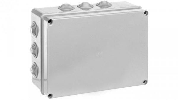 Puszka natynkowa z pokrywą i śrubami seria 400 IP55 300x220x120 EC400C8