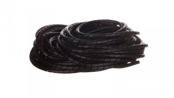 Wężyk ochronny spiralny PN 10 mm 12 mm czarny/25m/ ECPN10