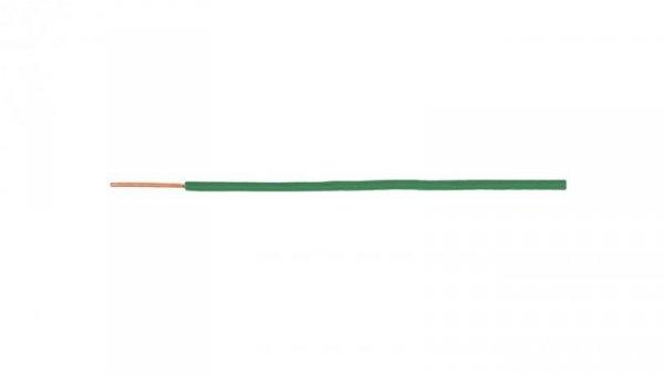 Przewód instalacyjny H07V-U (DY) 2,5 zielony /100m/