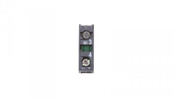 Styk pomocniczy 1Z montaż czołowy ZBE101