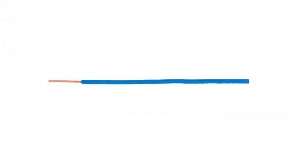 Przewód instalacyjny H07V-U (DY) 1 niebieski /100m/