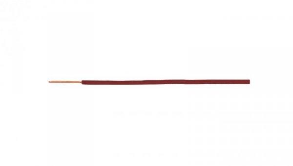 Przewód instalacyjny H07V-U (DY) 2,5 czerwony /100m/