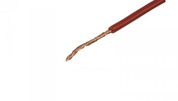 Przewód instalacyjny H07V-K 1,5 czerwony 4520041 /100m/