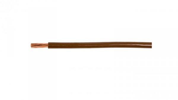 Przewód instalacyjny H07V-K (LgY) 1 brązowy /100m/