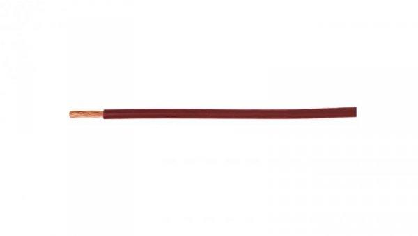 Przewód instalacyjny H05V-K (LgY) 0,5 czerwony /100m/