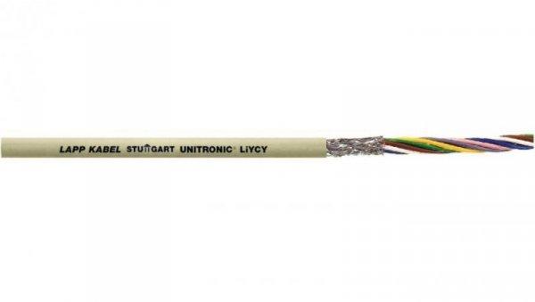 Przewód sterowniczy UNITRONIC LiYCY 3x0,75 0034703 /bębnowy/