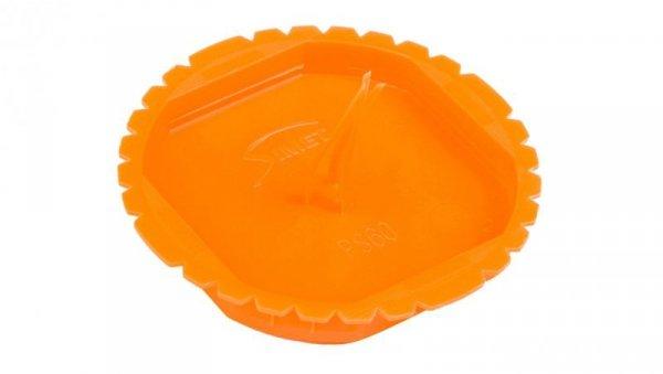 Pokrywa sygnalizacyjna puszek podtynkowych 60mm okrągła pomarańczowa PS 60 37083008 /50szt./