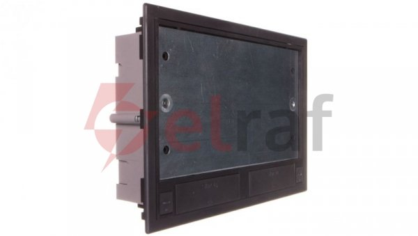 Simon Connect Puszka SF podłogowa sześciokrotna 12xK45 + 2xSM302/9 szary grafit SF670/14