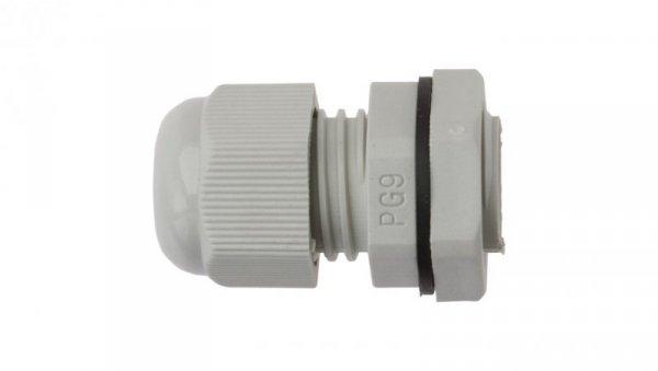 Dławnica kablowa poliamidowa PG9 IP68 DP 9/H szara E03DK-01030100201