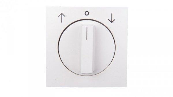 Berker/B.Kwadrat Element centralny z pokrętłem żaluzjowym śnieżnobiały 5310808989