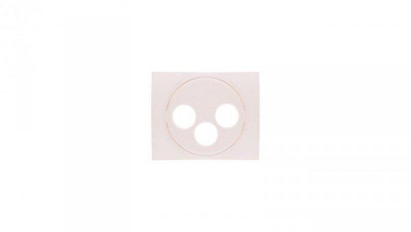 SISTENA LIFE Plakietka gniazda RTV/SAT pearl 771573