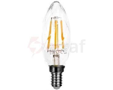 Żarówka LED E14 FILAMENT 3,9W 420lm ToLEDo RT CANDLE TW SL 0027338