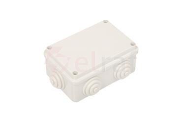 Puszka n/t 120x80x50 tworzywo IP55 szara GW44005