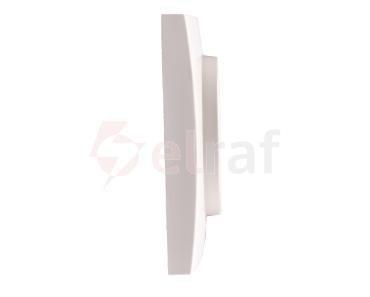 Berker/B.Kwadrat Element centralny z pokrętłem ściemniacza śnieżnobiały 5311378989