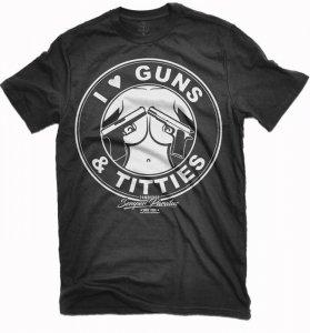 GUNS TITTIES