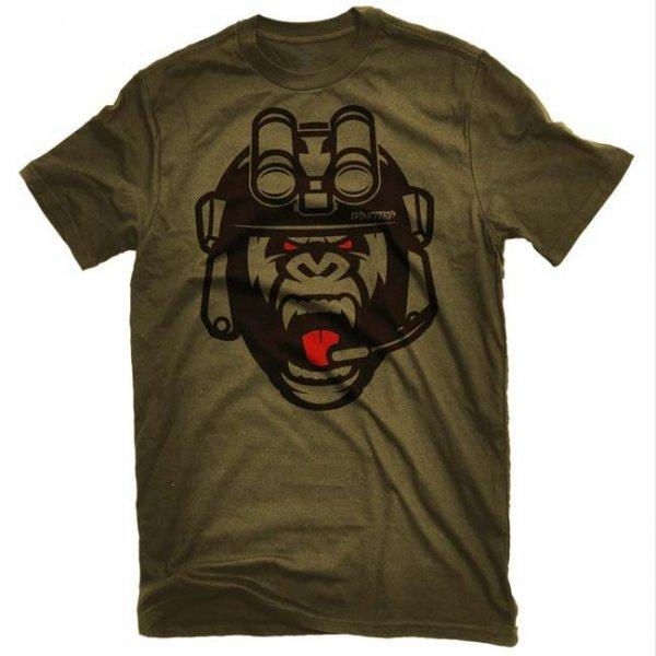 Koszulka Tshirt militarna wojskowa BAD GORILLA
