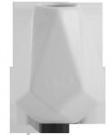 Matero Białe Ceramiczne Diament - do yerba mate