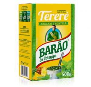 Yerba Mate Barao TERERE Menta Abacaxi 500g