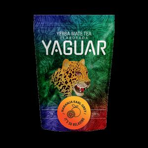 Yerba Mate Yaguar Naranja Earl Grey 500g