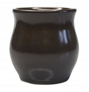 Matero Ceramiczne Czekoladowe - do Yerba Mate